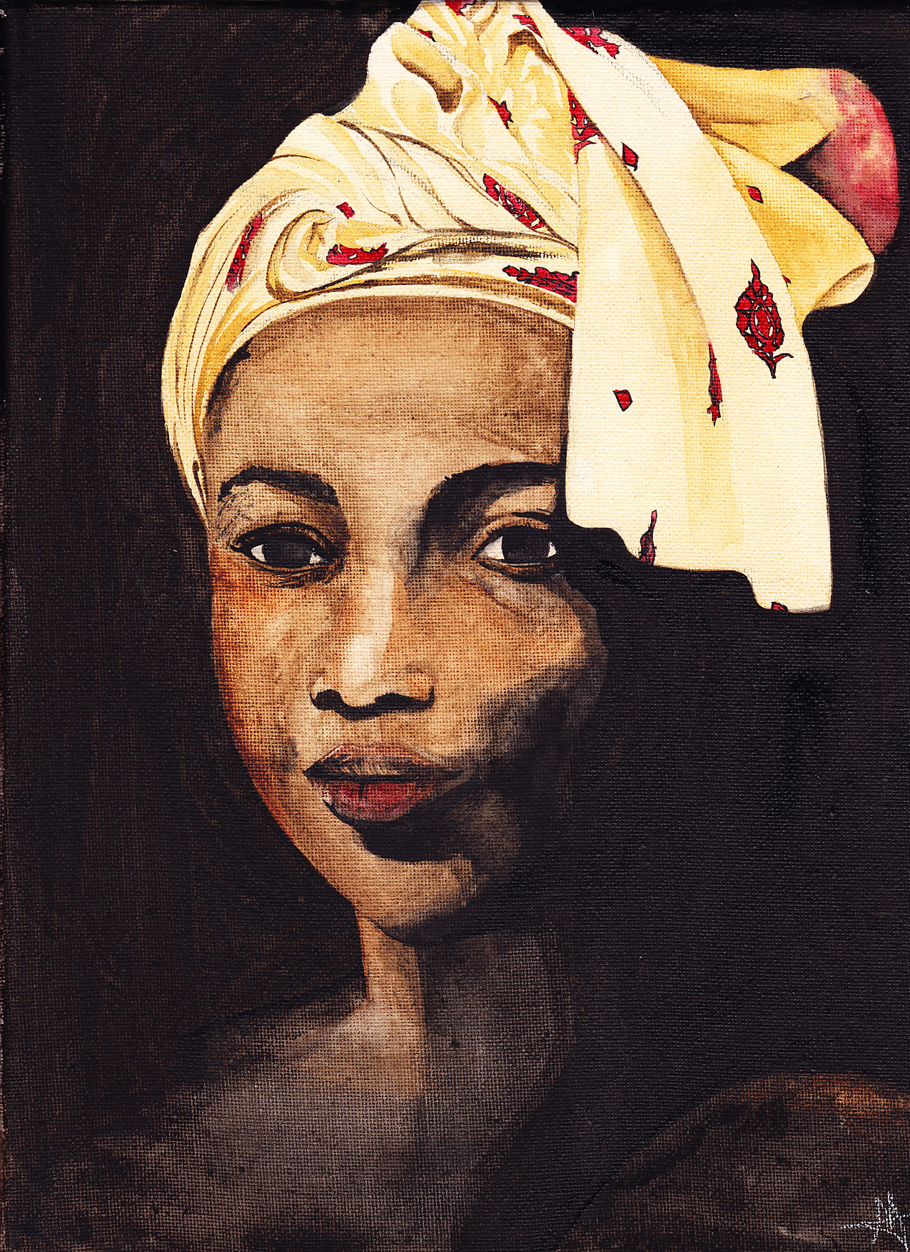 Femme africaine l 39 aquarelle malittleworld le petit monde de ma cowblog - Dessin africaine ...